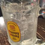 金町製麺 - 生レモンサワー@460円