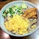 和食れすとらん 天狗 - 冷やしたぬき蕎麦599円(税抜)