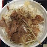 芳麺 - チャーシュー飯。