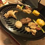 郷土料理 吉在門 - 海鮮焼き
