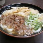 Tachibanaudon - 肉・ごぼううどん \650