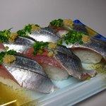 角上魚類 - さんま寿司