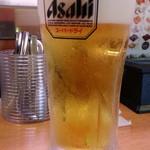 かっぱ寿司 - ドリンク写真:生ビールはスーパードライ378円