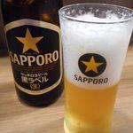 担々麺 七福朗 - 瓶ビール