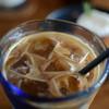 麻こころ茶屋 - ドリンク写真:カフェラテ    (デジカメf/1.8G)