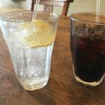 54481014 - 【2016.8月追加】レモンスカッシュと、アイスコーヒー