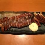 土風炉 - イカの山椒醤油焼