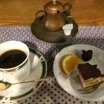 54482132 - コーヒー、デザート ※お昼のおしながき