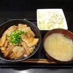 ガッツ亭 - 国産豚バラ丼ランチ