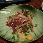 なる美寿司 - くじらベーコン