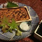 なる美寿司 - ウニの炙り
