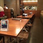洋食 キッチン大宮 - 4人用のテーブル席