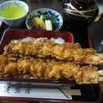 尾張屋 - 上天丼2300円(車海老)