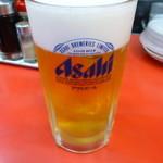 餃子の王将 - 生ビール