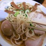 中華そば ひらこ屋 - 麺とスープの相性はいいよ