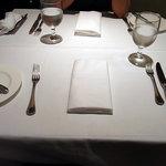 パネ・エ・ヴィーノ - テーブルセッティング