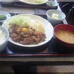 蔵蔵 - スタミナ定食(2010/10/19)