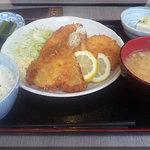 蔵蔵 - フライ定食(2010/10/19)