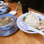 中華そば ひらこ屋 - つけ麺(夏季限定)@2016.8