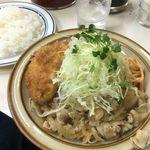 キッチン南海 - クリームコロッケと生姜焼き