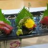 かねみつ - 料理写真:まぐろの刺身三点盛り