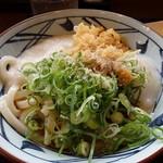 丸亀製麺 - とろ玉ぶっかけ(並)