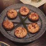54493636 - 焼き椎茸クリームチーズ