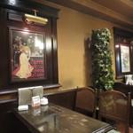 CAFE FLORIAN - テーブル席