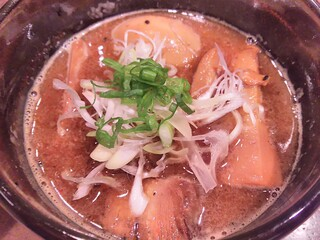 渡なべ - つけ麺のつけ汁