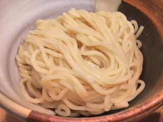 渡なべ - つけ麺の麺