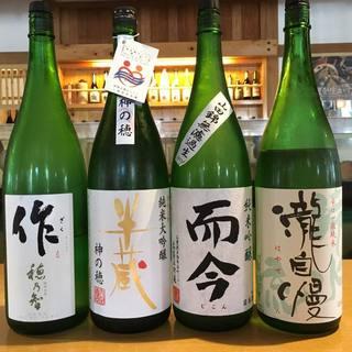 三重県の地酒を取り揃えております!