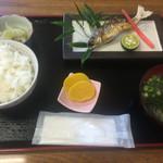 たなか屋 - 料理写真:鮎の塩焼き定食