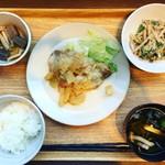 岡山淳風会タニタ食堂 - 日替わり定食(豚肉のビネガー風味定食)@780