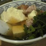 大衆割烹 三州屋 - 050125三州屋鶏豆腐