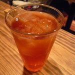 ピッツェリア&カフェ ドムス オルソ - ☆冷んやり紅茶で喉を潤しましたぁ(^v^)☆