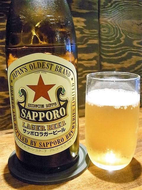 武蔵 - 赤星中瓶¥500(税別)