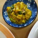 インド・ネパール料理 シャマーマハル - 根菜のアチャール