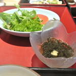 ヴィネスパ 湯楽 - 朝食 サラダ もずく酢