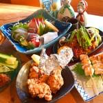ぎんから - 料理写真:3900円ポッキリコース