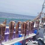 やきとり割烹花夏彩 - イカの沖干し