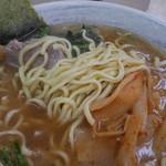 川崎家 - 麺を出したところ。