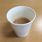 ハラールフードマルハバ - 食後のミルクティー