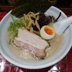 とんこつ小川 - 鶏とんこつ(醤油)