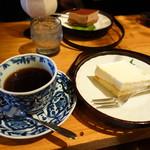 珈琲道場 侍 - レアチーズセット