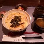 近江多賀亭 - 近江鶏親子丼のセット