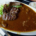 焼肉 福ちゃん ひびきの店 - 「厚切牛タン入特製カレー」