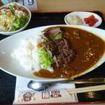 焼肉 福ちゃん ひびきの店 - 「厚切牛タン入特製カレー」980円(税別)