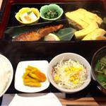 和っぷる - 出し巻き卵とめだい味噌幽庵焼き膳  890円