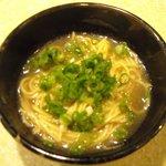 5451606 - セットの〆の中華麺