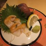 樽寿司  - 石垣貝の刺身